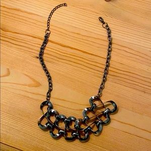 Pewter Colored Necklace